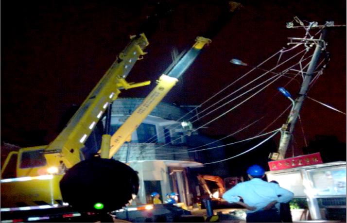 Typhoon Soudelor Fuzhou, Putian Emergency Repair4